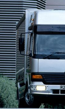 Wallpapers Mercedes Benz Atego poster