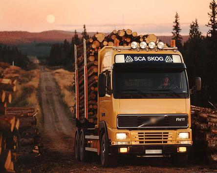 Wallpapers Volvo Trucks apk screenshot