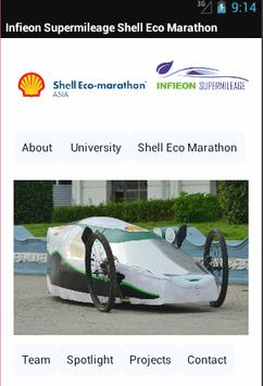 Infieon Supermileage poster