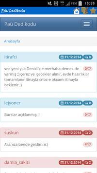 PAÜ Dedikodu screenshot 8