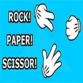 Rock paper scissor icon