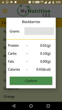 My Nutrition 123 screenshot 3