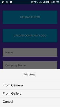 eBizCardX apk screenshot