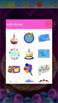 Birthday Greeting Cards Maker apk screenshot