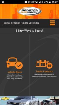 Houston Auto Web poster