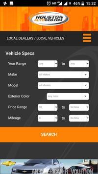 Houston Auto Web screenshot 1