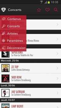 RockMAP où la musique habite poster