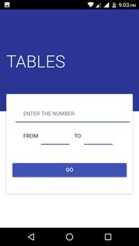 Tables-All Mathematics Tables in one screenshot 1