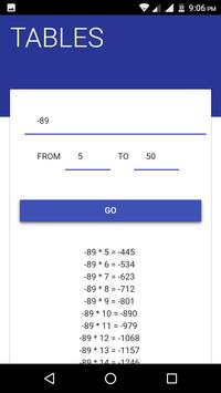 Tables-All Mathematics Tables in one screenshot 3