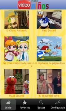 Video para niños poster