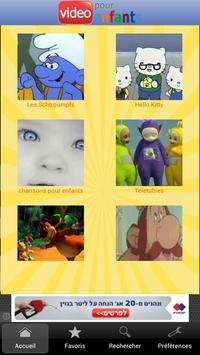 Vidéos pour enfants poster