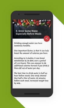 Healthy Nutrition Tips screenshot 2
