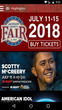 Jackson County Fair poster