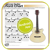 easy learn guitar chords icon