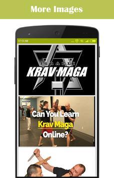 Learn Krav Maga poster