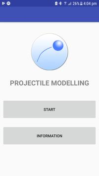 Projectile Modelling poster