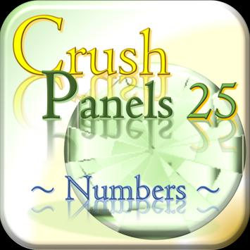 Crush Panels -Numbers- poster