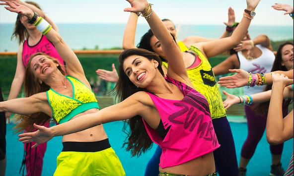 Zumba Dance Practice poster