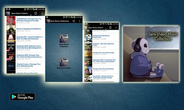 Sans Music Collection apk screenshot