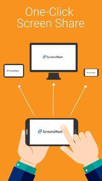 ScreenMeet. Easy Phone Meeting poster