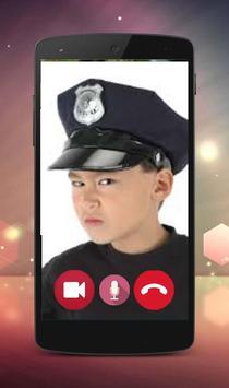 Call video Prank Kids Police apk screenshot