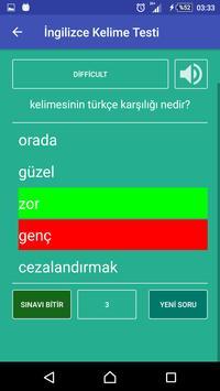İngilizce Kelime Öğren screenshot 2
