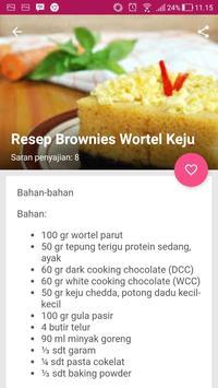 Aneka Resep Brownies screenshot 7
