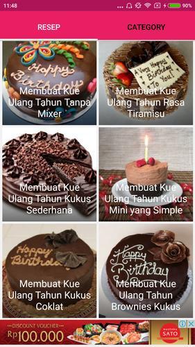 Resep Kue Ulang Tahun Für Android Apk Herunterladen
