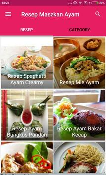 Resep Masakan Ayam - Lengkap apk screenshot