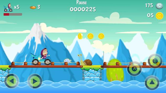 masha super racing world apk screenshot
