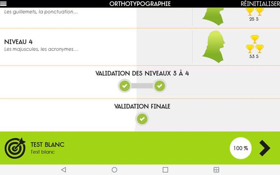 Orthographe Projet Voltaire apk screenshot