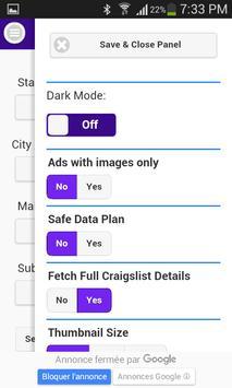 craigslist searching apk screenshot