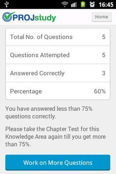 PROJstudy PRINCE2 Chapter Test screenshot 4