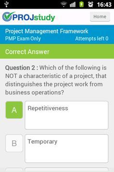 PROJstudy PRINCE2 Chapter Test screenshot 3