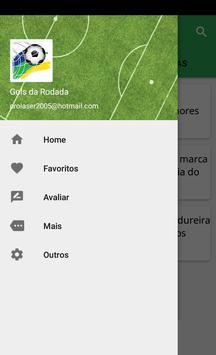 Gols da Rodada apk screenshot