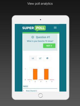 Superpoll Poll & Survey maker screenshot 13