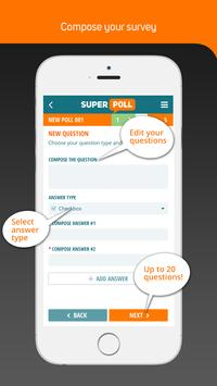 Superpoll Poll & Survey maker apk screenshot