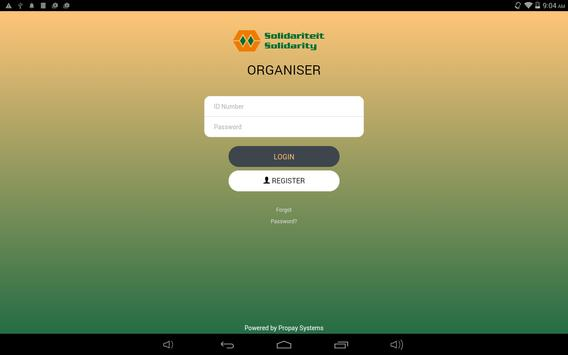 Solidarity Organisers apk screenshot