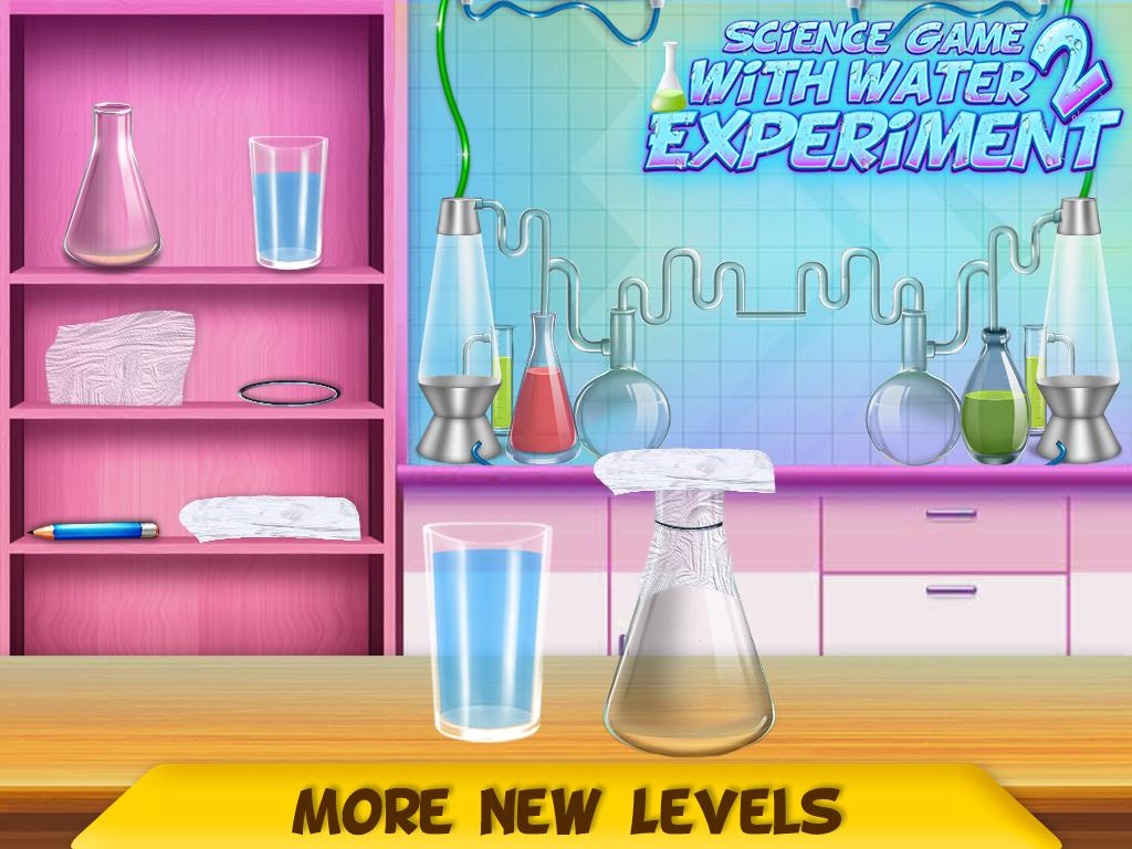 Science Experiments With Water : Kids Science Lab for