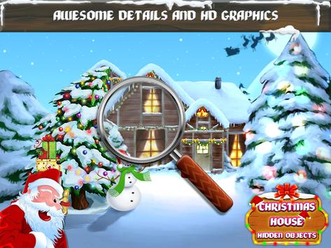 Christmas House Hidden Objects poster