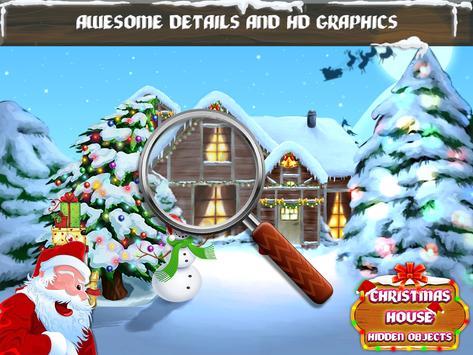 Christmas House Hidden Objects apk screenshot