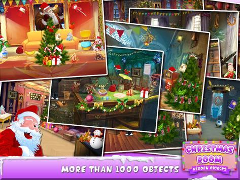 Christmas Room Hidden Objects apk screenshot