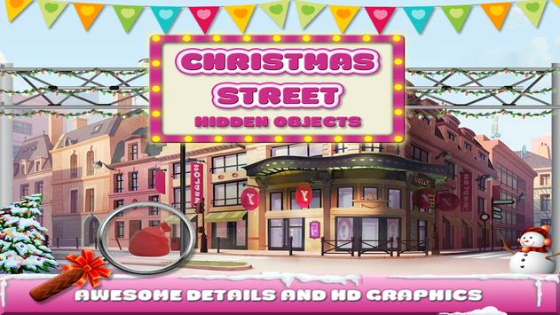 Christmas Street Hidden Object poster