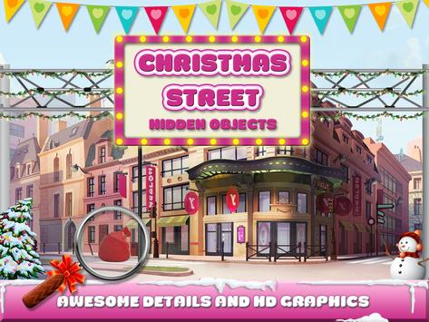 Christmas Street Hidden Object screenshot 10