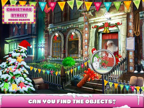 Christmas Street Hidden Object screenshot 11