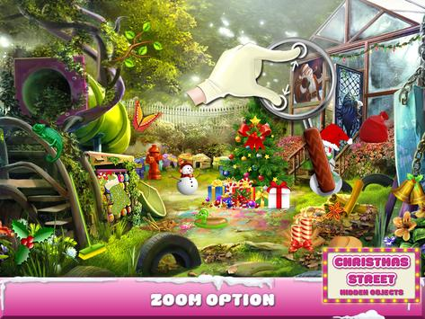Christmas Street Hidden Object screenshot 12