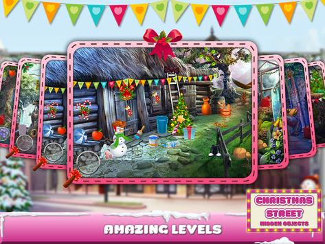 Christmas Street Hidden Object screenshot 13