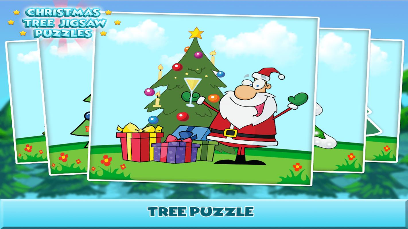 Christmas Tree Jigsaw Puzzle For Android