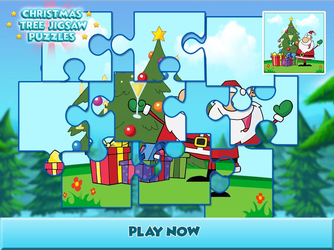 Christmas Tree Jigsaw Puzzle Para Android