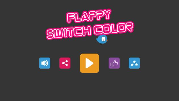 Flappy Switch Color poster